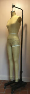 Superior Mannequin Female Dress Form Size 10 Vintage 1977