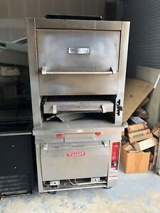 Vulcan Commercial Steak Broiler Convection Oven Combo