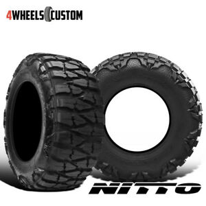 2 X New Nitto Mud Grappler X terra 315 75 16 127 124p Mud Terrain Tire
