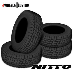 4 X New Nitto Terra Grappler G2 285 70 17 121 118s All Terrain Tire