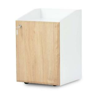 2 drawer Mobile File Cabinet With Lock office Document Cabinet beside Table