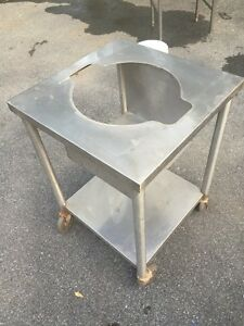 Commercial Stainless Steel Rice Warmer Holder Stand On Casters