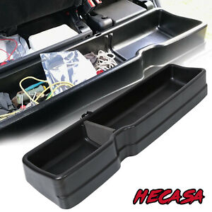 New Under Seat Storage Box Organizer For 2015 2019 Ford F150 Supercrew Cab 09281