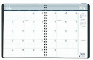 House Of Doolittle 14 Month Academic Planner July 2014 To August 2015 Black 8 5