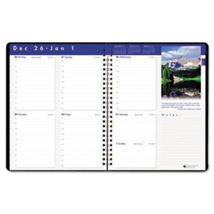 House Of Doolittle Earthscapes Executive Weekly Hardcover Planner 12 Months 2015