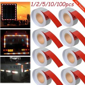 Lot dot Conspicuity Tape 2 x150 dot Class 2 Reflective Tape Roll Red And White B