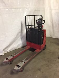 2009 Raymond Pallet Jack Excellent Condition Buy With Confidence 24v Electric