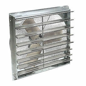 10 Exhaust Ventilation Fan With Shutter Single Speed With Hardware Lot Of 1