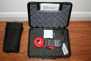 Aemc Clamp on Ground Resistance Tester 3731 With Hard Case