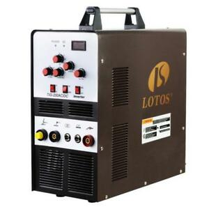 Lotos Tig200 200a Ac dc Aluminum Tig stick Welder Square Wave Inverter With Peda