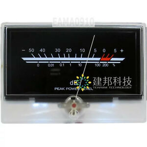 P 134 Vu Meter Level Meter Audio Volume Db Meter Level Back Light Post amplifier