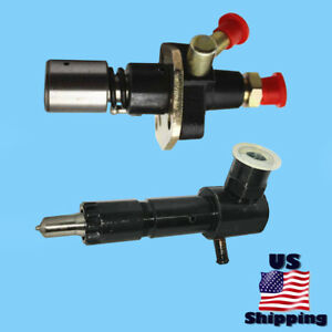 Yanmar Mechanical Fuel Pump Right Port Injector For L48ae 714250 51710 Diesel