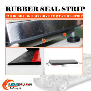 Weatherstrip Auto Rv Suv Door Edge Guard Rubber Seal Moulding Strip Trim 20ft