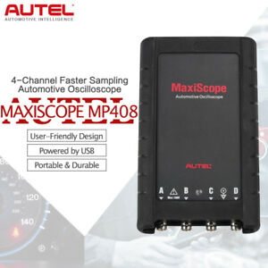Autel Mp408 Maxiscope Automotive Oscilloscope Basic Kit 4 Channel For Maxisys Pc