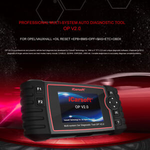 Icarsoft Auto Diagnostic Scan Tool Op V2 0 For Opel Vauxhall Oil Reset Epb Bms