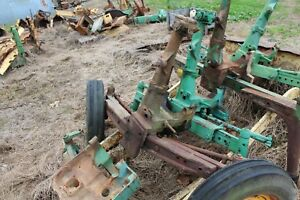 Antique Tractor John Deere 420w 430w Swept Back Front Axle Assembly