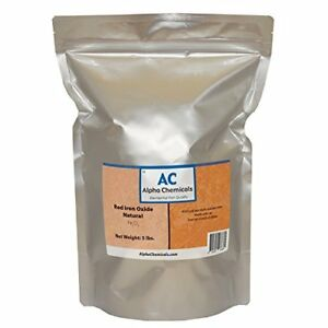 Red Iron Oxide Fe2o3 Natural 5 Pounds