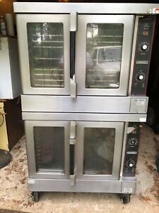 Hobart Model Hec5 14 Double Stacked Convection Oven