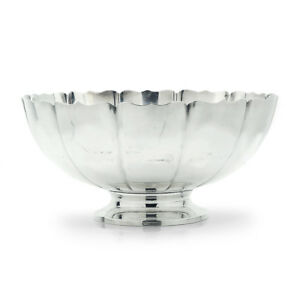 Fisher Sterling Silver Fruit Bowl Dublin 251 Large 11
