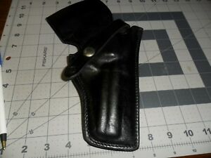 For Colt Safariland M 10 Police Duty Hoster Plain Black Classic Style