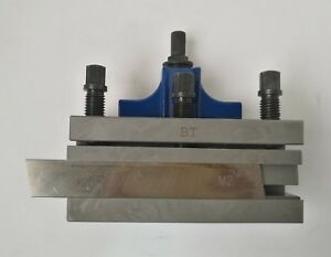 Bt Parting Off Cut Off Tool Holder Hss Blade For B2 Quick Change Tool Post
