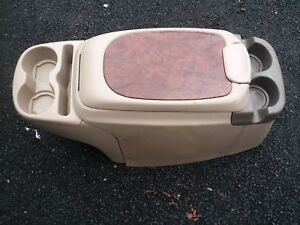 1999 2003 Ford Excursion F 250 F250 F350 Console Cup Holder Tan
