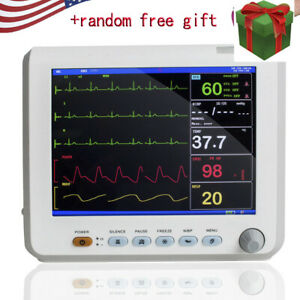 Medical Vital Signs Patient Monitor 6 parameters Hospital Icu Ccu Monitor Gift