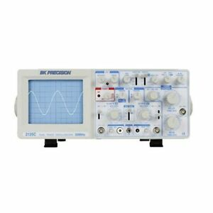 B k Precision 2125c Analog Oscilloscope Delayed Sweep 30 Mhz Bandwidth