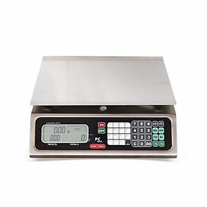 Torrey Pc80l Electronic Price Computing Scale Rechargeable Battery Stainless