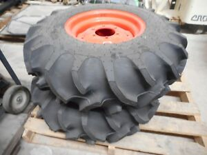 Kubota Set Of 2 Abr8769 Tires
