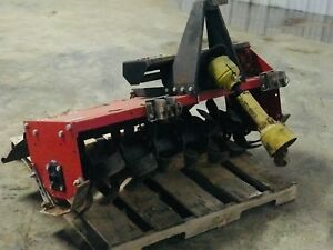 Agritec At20 120 4 Rotary Tiller Roto 3 Point Hitch Pto