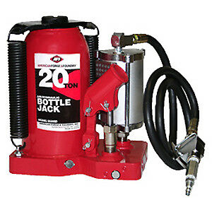 Aff American Forge 5620sd 20 Ton Air Hydraulic Super Duty Bottle Jack