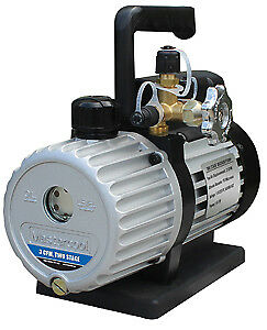 Mastercool 90063 2v 110 B 3 Cfm Two Stage Vacuum Pump