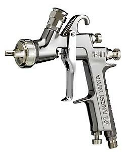 Iwata 4860 W400lv 1 3 Compliant Spray Gun With Regulator Less Cup Clear