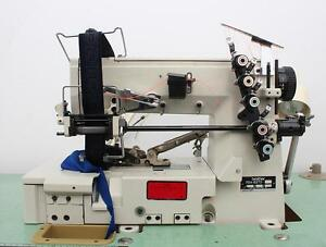 Brother Fd4 b272 Coverstitch Elastic Band Attaching Industrial Sewing Machine