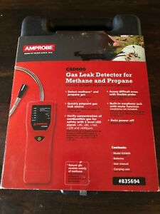 Amprobe Gsd600 Gas Leak Detector For Methane And Propane New Never Opened
