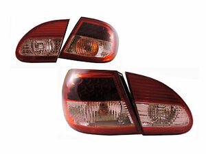 Dhl new Led Tail Lights Rear Lamps Red For Toyota Corolla S Ce Le Xrs 2003 2007