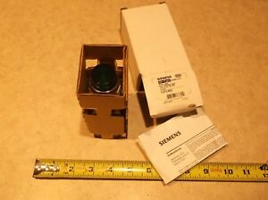 Siemens Furnas 52pc4e3 Pilot Light 120 Volt 120v Ac dc Green