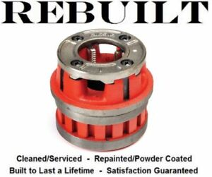 Ridgid 12 r 1 Without Dies Pipe Threader Die Head 1 Inch Without Dies