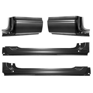 1997 2004 Dodge Dakota Pickup Rocker Panel Cab Corner Repair Kit 2 Door Club