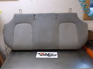 Oem 2006 2008 Chevy Impala Rear Back Lower Bottom Seat Bench Cloth Grey Fabric