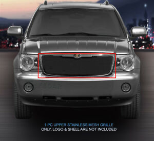 Fedar Main Upper Wire Mesh Grille Insert For 2007 2009 Chrysler Aspen