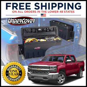 Undercover Swing Case Right Side Truck Bed Storage Sc100p 07 18 Silverado Sierra
