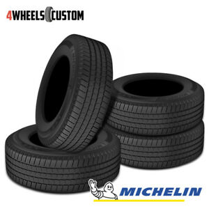 4 X New Michelin Ltx M s2 245 70 17 110t Highway All season Tire