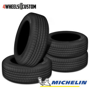 4 X New Michelin Defender T H Mtp 235 65 16 103h Standard Touring Tire
