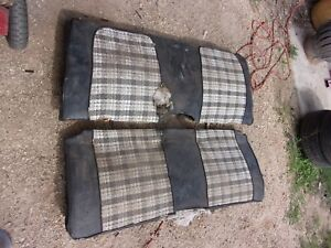 71 72 73 74 Amc Javelin Amx Sst Rear Seat Back Bottom Complete Oem