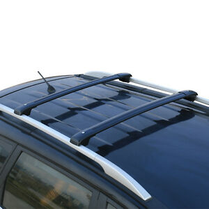 For Ford Explorer 2013 2016 Car Top Roof Rack Cross Bars Luggage Carrier Black