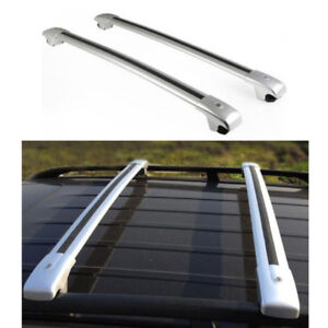 Car Roof Rack Cross Bars Luggage Carrier Silver Fit For Ford Explorer 2013 2016