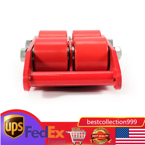 6t 13 200lb Industrial Machinery Mover Skate 4 roller Heavy Duty Machine 360 Us