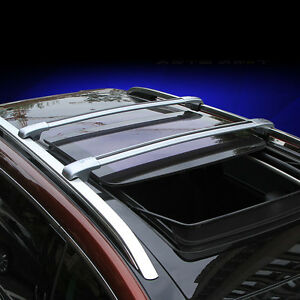 For Ford Explorer 2013 2016 Car Top Roof Rack Cross Bars Luggage Carrier Silver